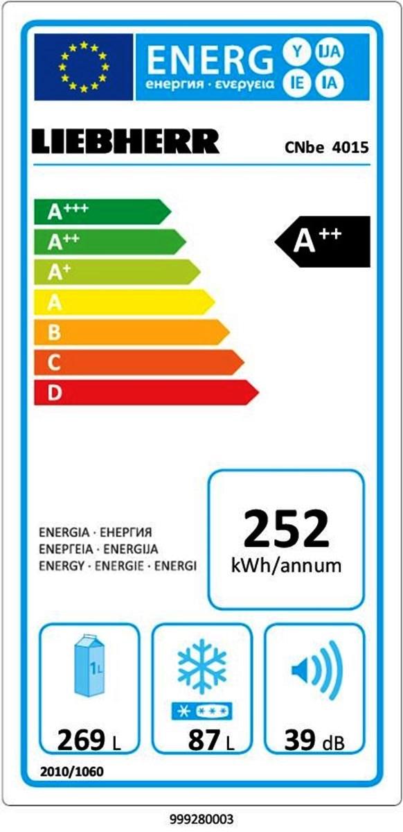 купить Двухкамерный холодильник Liebherr CNbe 4015 Украина фото 1