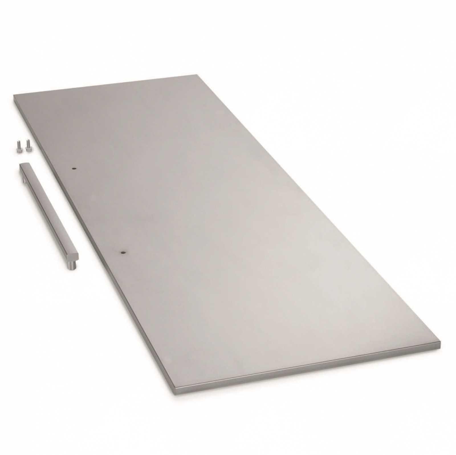 Панель из нержавеющей стали с ручкой (ниша: 178 см) купить украина