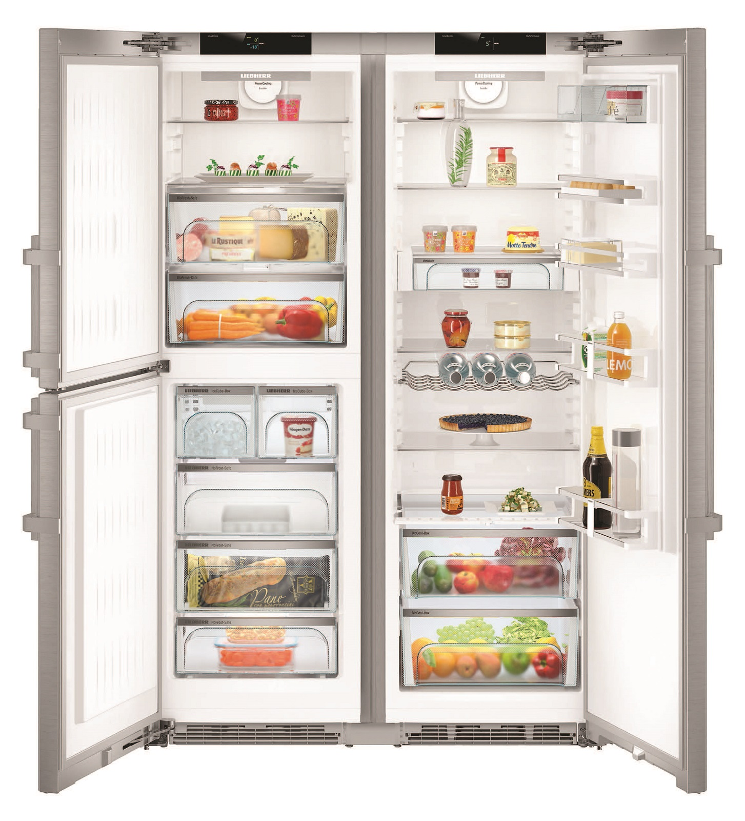 Side-by-Side холодильник Liebherr SBSes 8483 купить украина