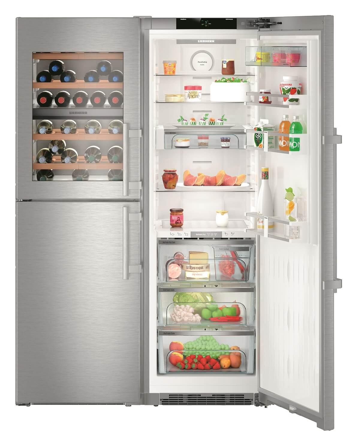 купить Side-by-Side холодильник Liebherr SBSes 8486 Украина фото 6
