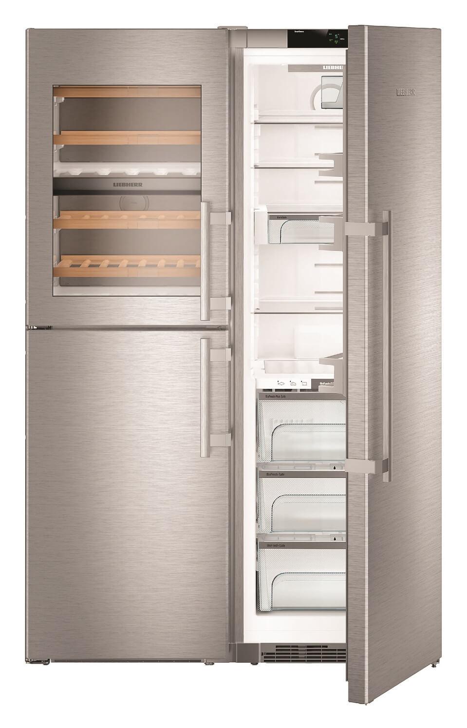 купить Side-by-Side холодильник Liebherr SBSes 8486 Украина фото 3