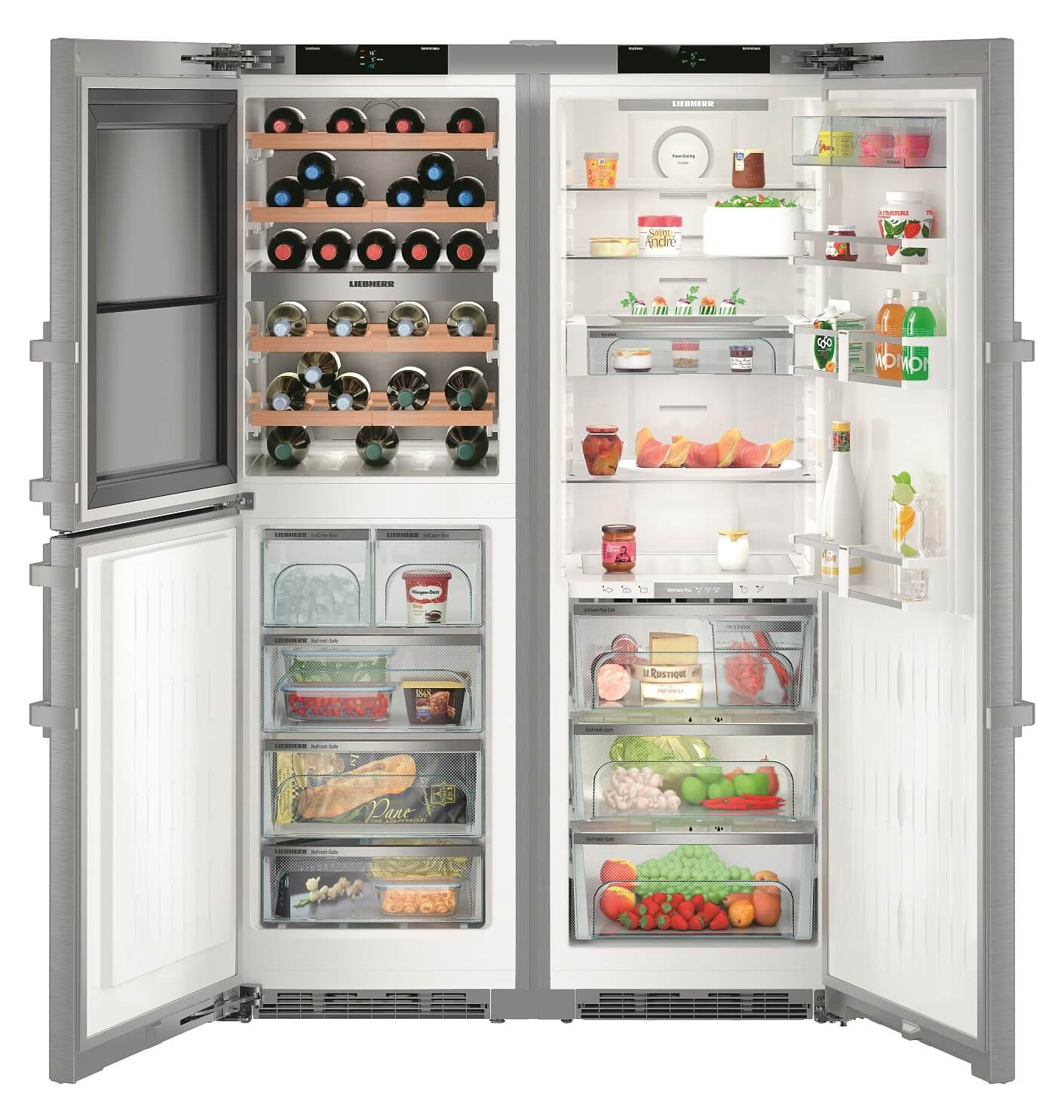 купить Side-by-Side холодильник Liebherr SBSes 8486 Украина фото 0