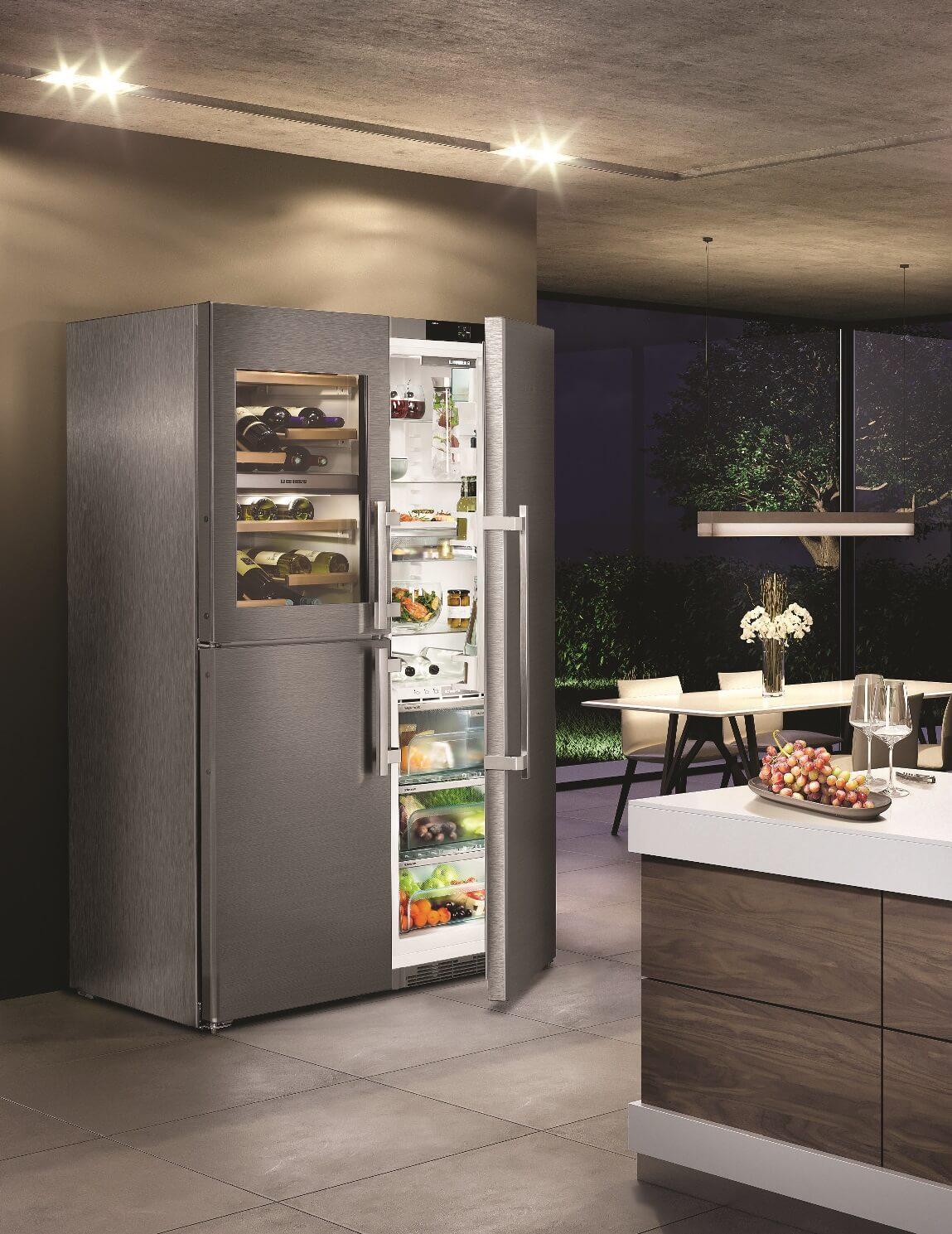 купить Side-by-Side холодильник Liebherr SBSes 8486 Украина фото 8