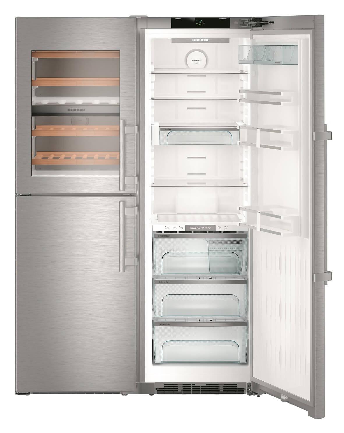 купить Side-by-Side холодильник Liebherr SBSes 8486 Украина фото 2