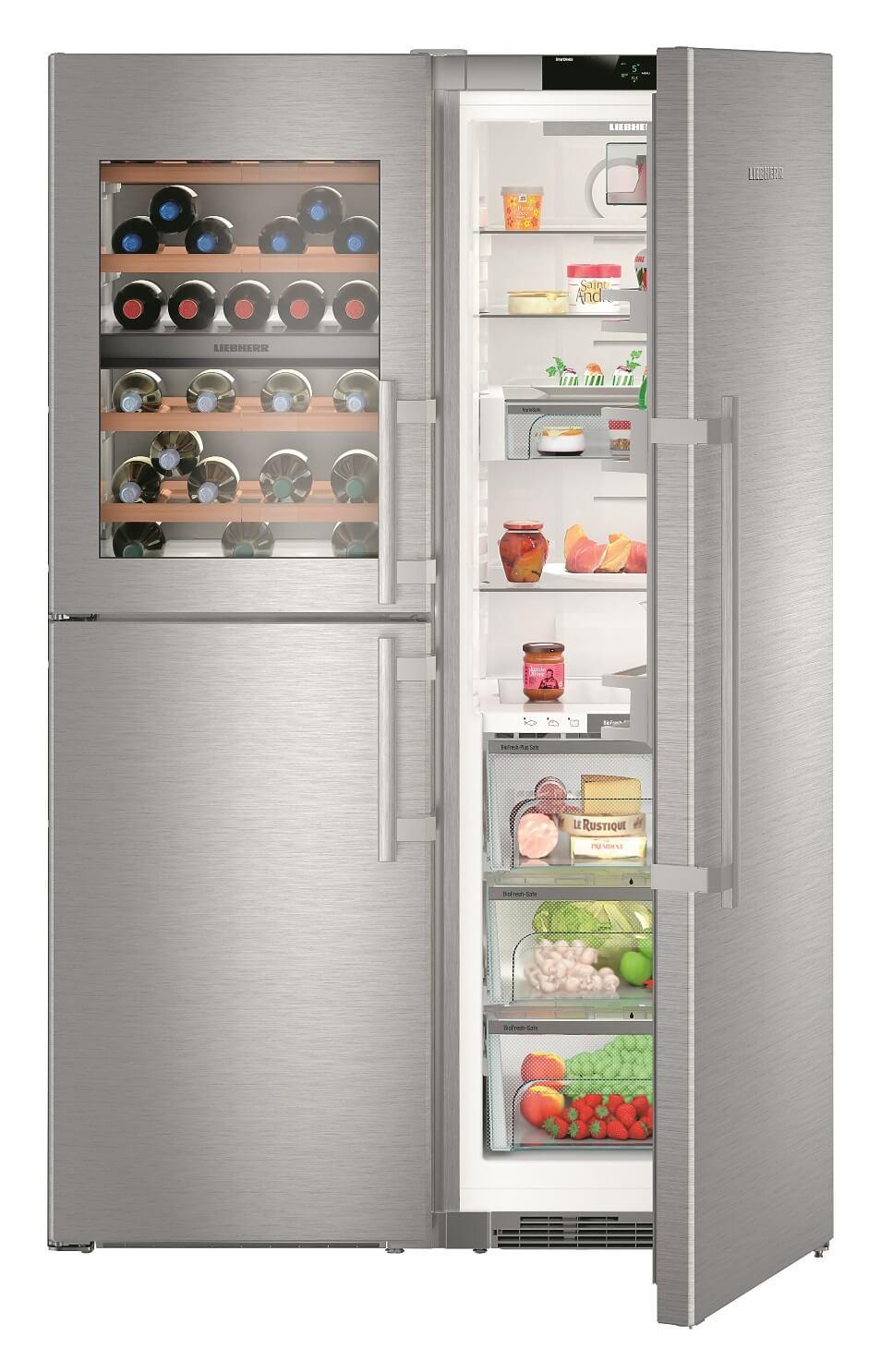 купить Side-by-Side холодильник Liebherr SBSes 8486 Украина фото 5