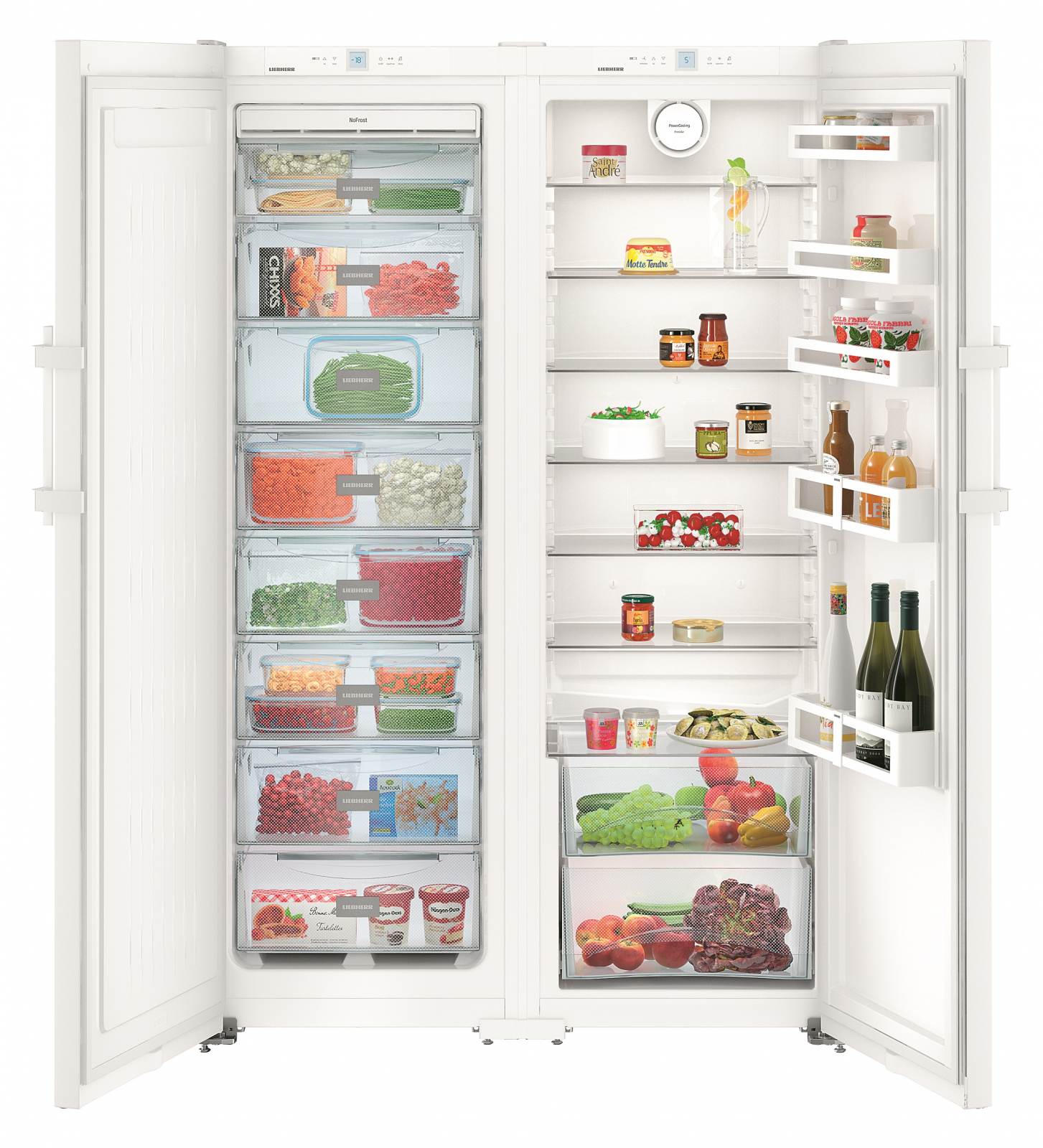 Side-by-side холодильник Liebherr SBS 7242 купить украина