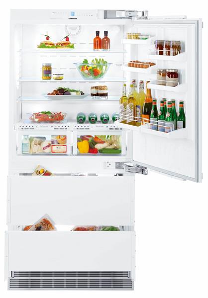 Встраиваемый двухкамерный холодильник Liebherr ECBN 6156 купить украина