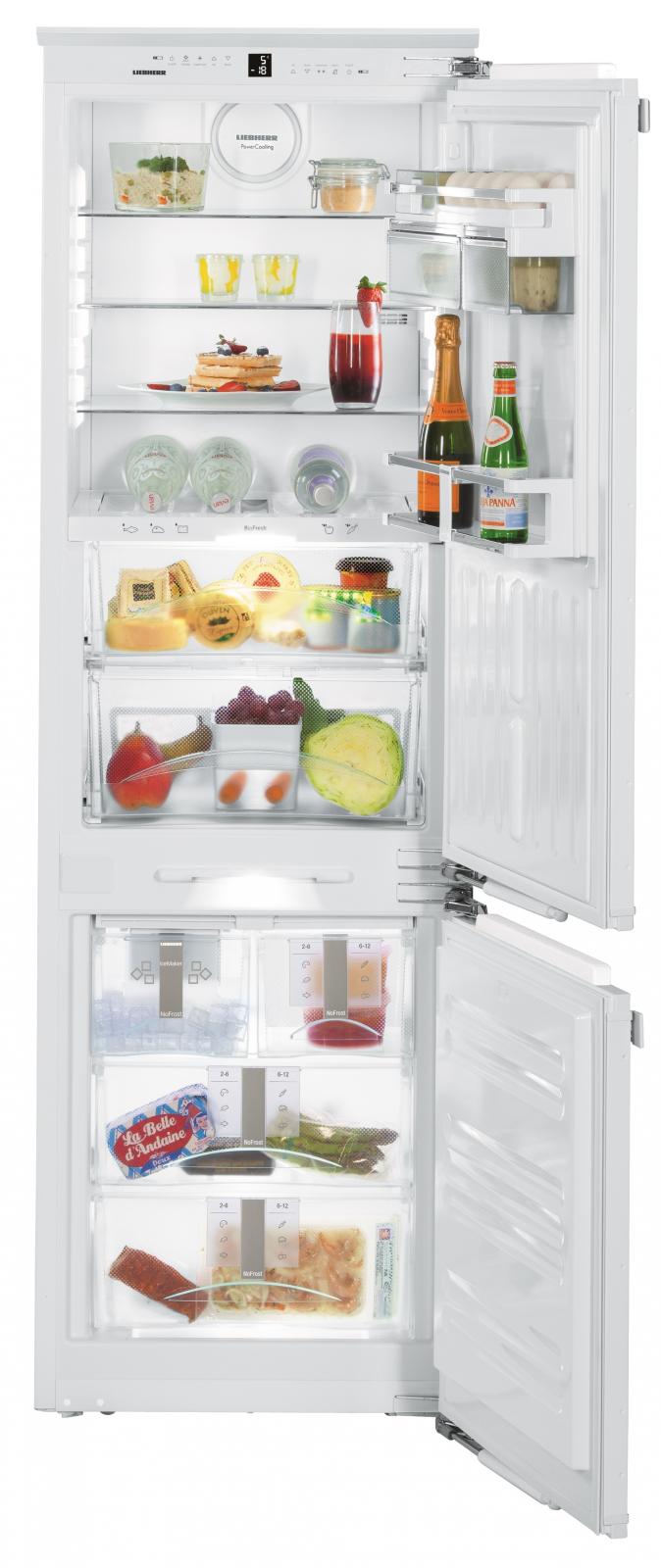 Встраиваемый двухкамерный холодильник Liebherr ICBN 3386 купить украина