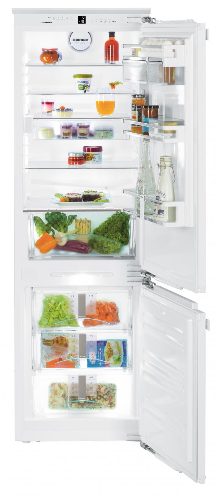 Встраиваемый двухкамерный холодильник Liebherr ICN 3376 купить украина