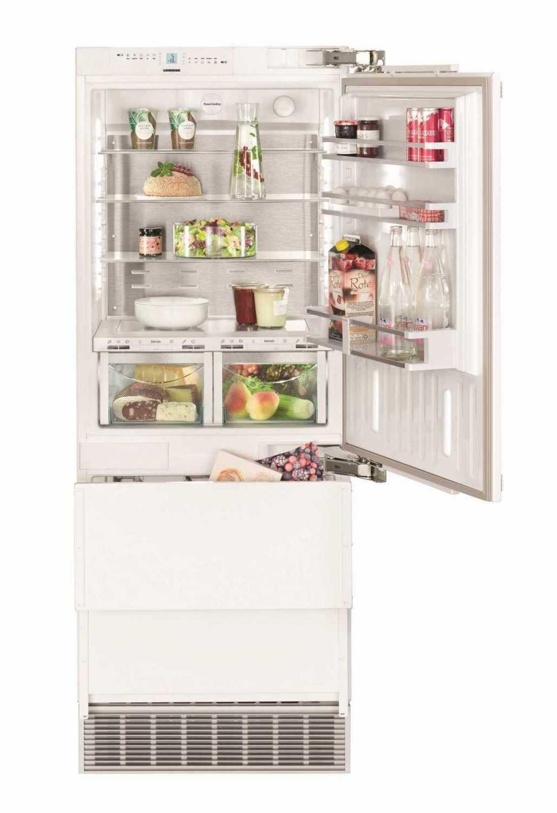 Встраиваемый двухкамерный холодильник Liebherr ECBN 5066 купить украина