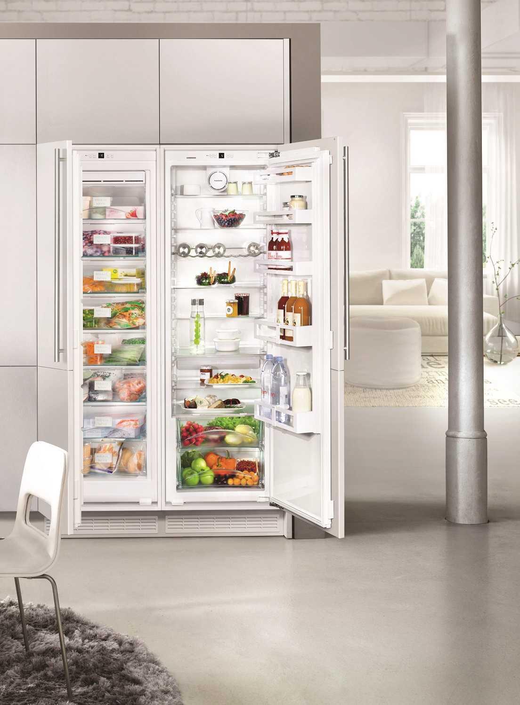 купить Встраиваемый холодильник  Side-by-side Liebherr SBS 70I2 Украина фото 3